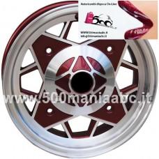 """CERCHI IN LEGA 4,5 J X 12"""" - FIAT 500"""