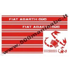 ADESIVI ABARTH 695